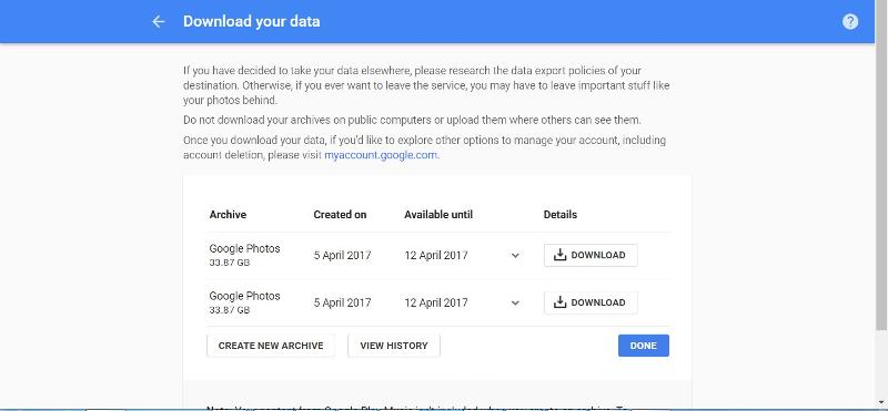 Download your data 06
