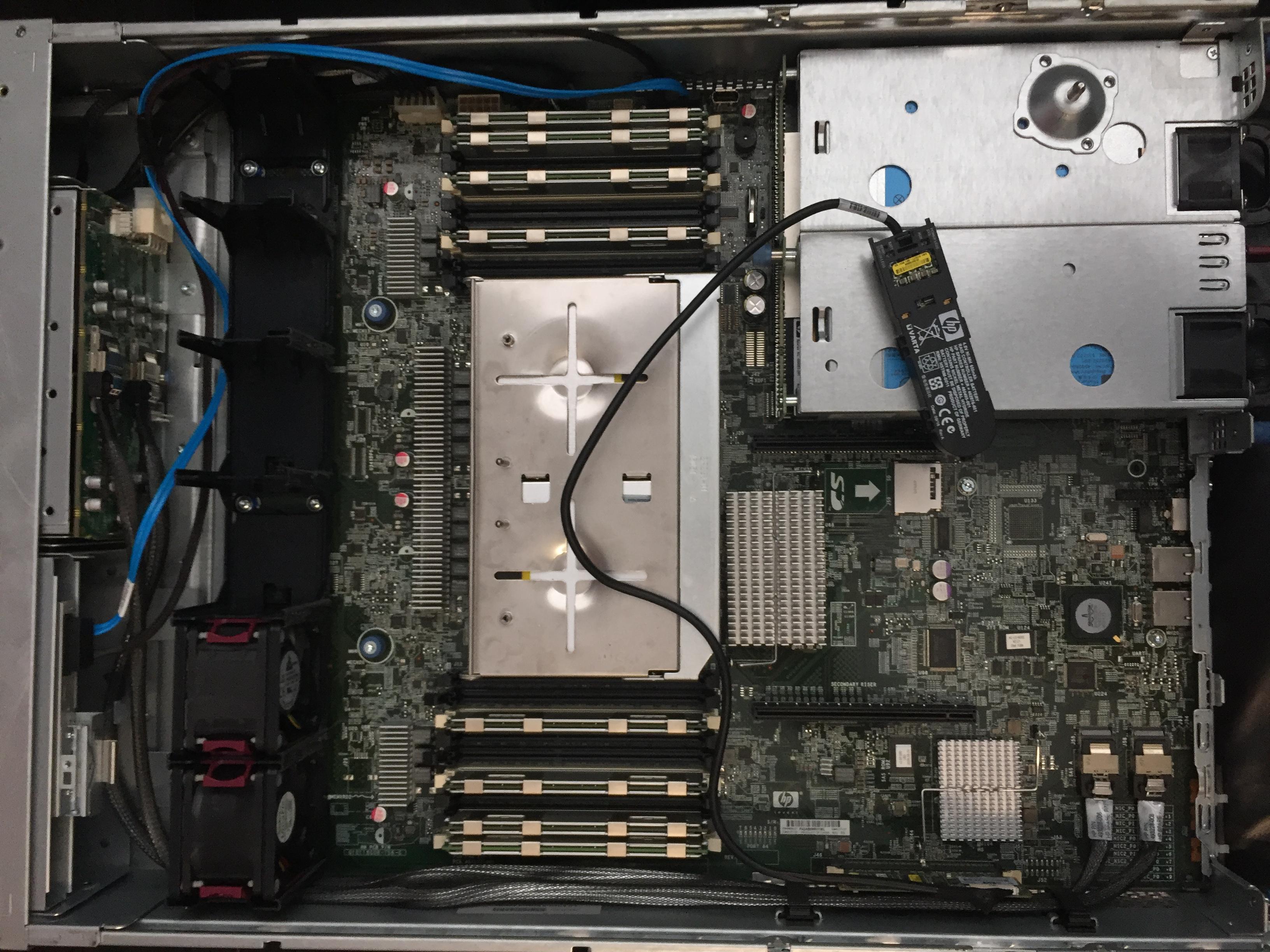 HP DL380 G6 Smart Array P410i No Drives Detected