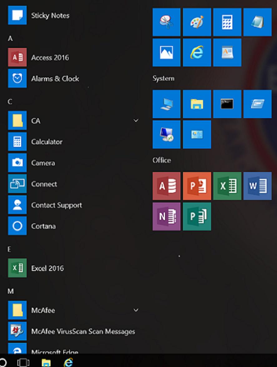 Windows 10 Enterprise Deployment: Customizing the Task Bar
