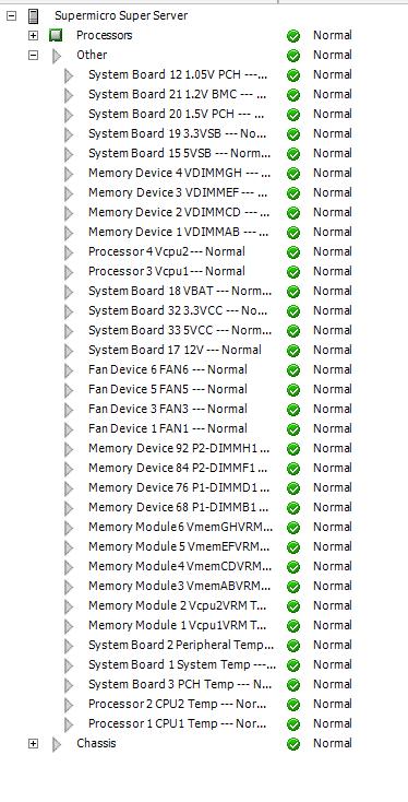 VMWare ESXi 6 5 - Supermicro X10DRL-i Sensors are not