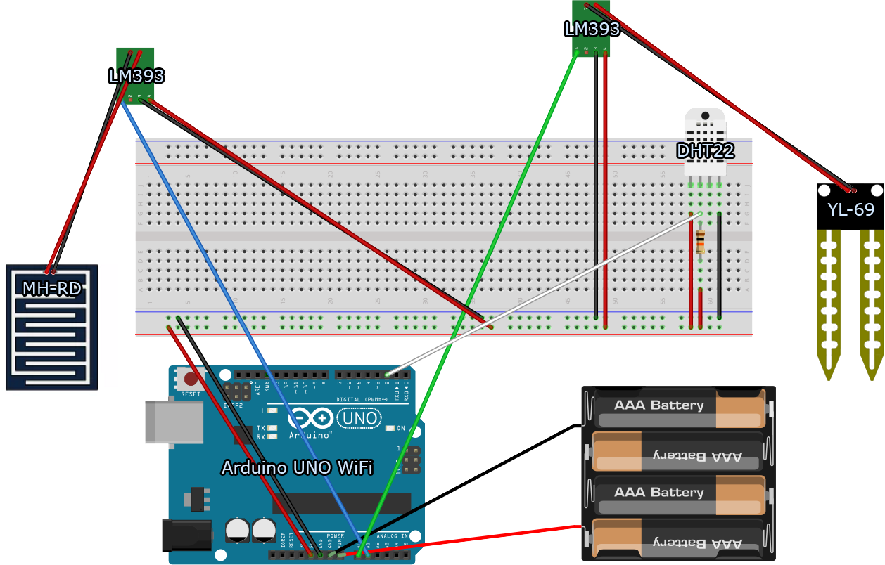 Arduino Uno Wifi Circuit Diagram Wiring Diagrams Thermistor 10k How To Connect Thingspeak Pin R3 Pinout