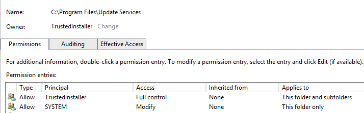Take Ownership of Folder from Trusted Installer (Permissions)