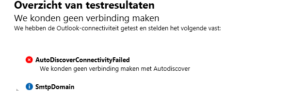 Exchange 2016 autodiscover not working