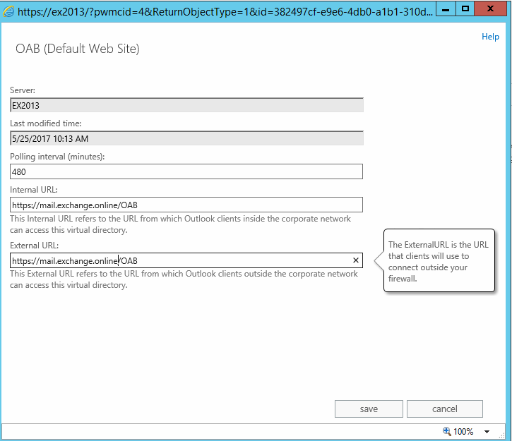 Exchange 2013: Fix for an Invalid certificate and related issues