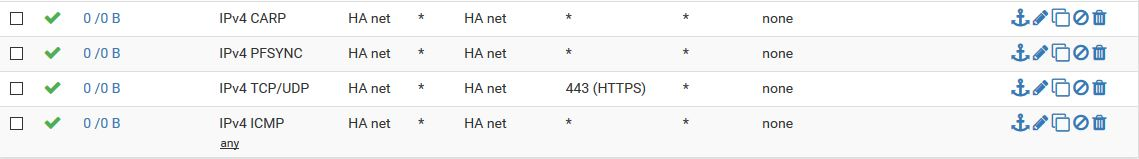 pfSense XML_RPC High Availability sync failing