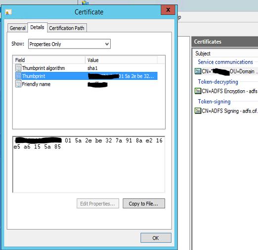New ADFS 3 0 server