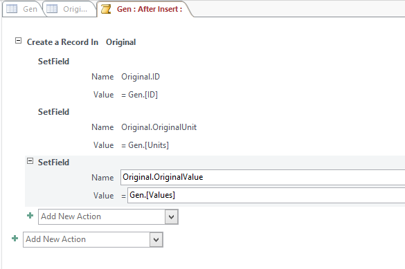 Ms Access Form - Add record to two table using one button