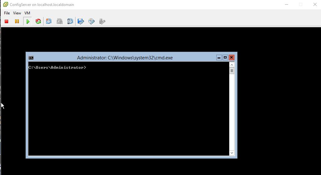 VMware Windows 2012R2 VM Black Screen