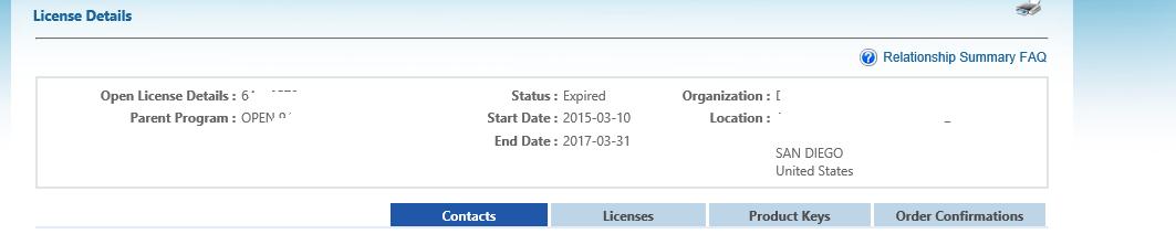 windows licensing unresolved quantity