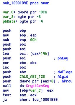Petya Ransomware Code