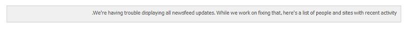 SharePoint 2016 Newsfeed doesn't work !