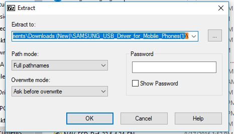 Samsung S5 not recognized by Windows 10