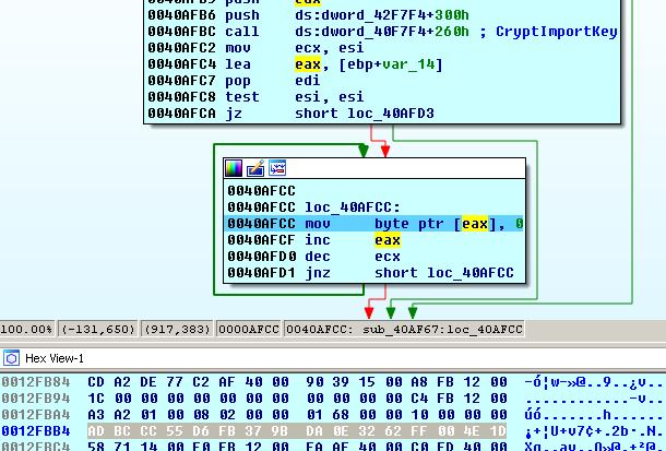 Cerber Ransomware Configuration