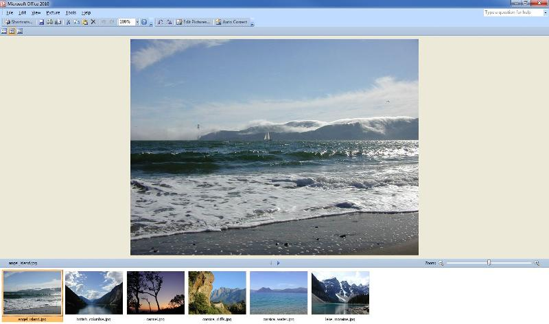 Picture Manager 2010 working with Office 2013