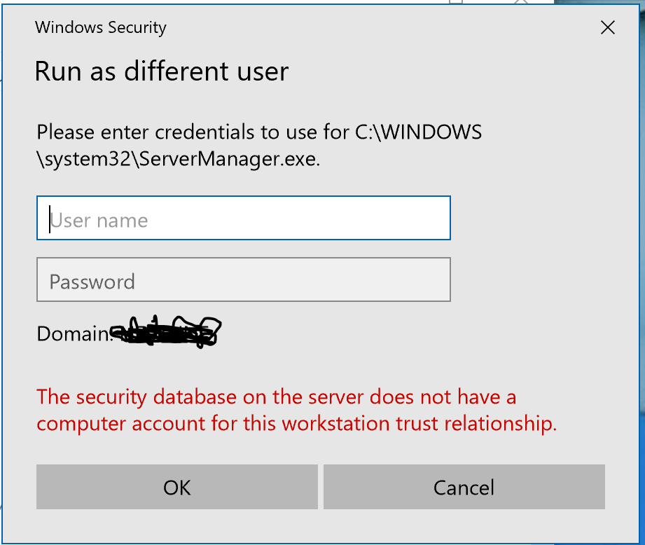 Windows Server Manager over VPN