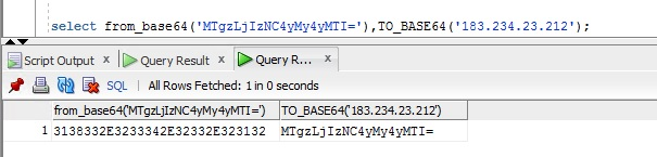 How to decode a base64 field in MySQL
