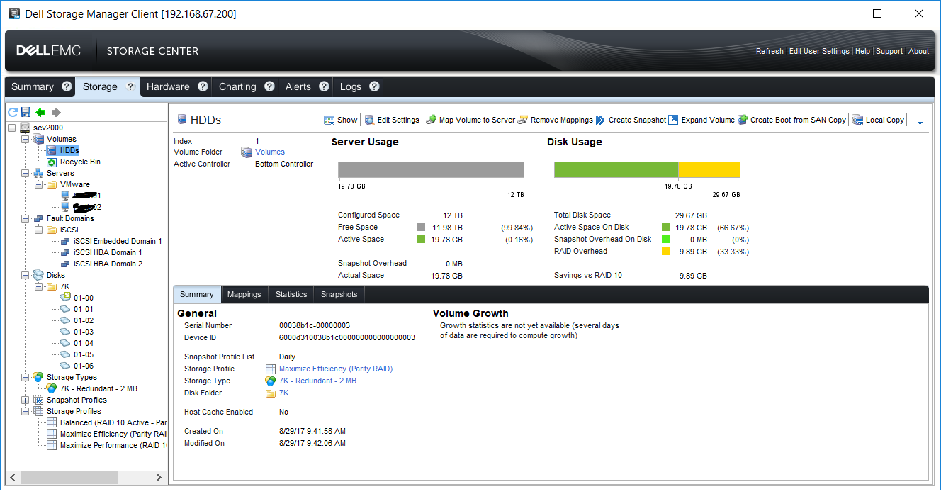 Dell Storage Manager