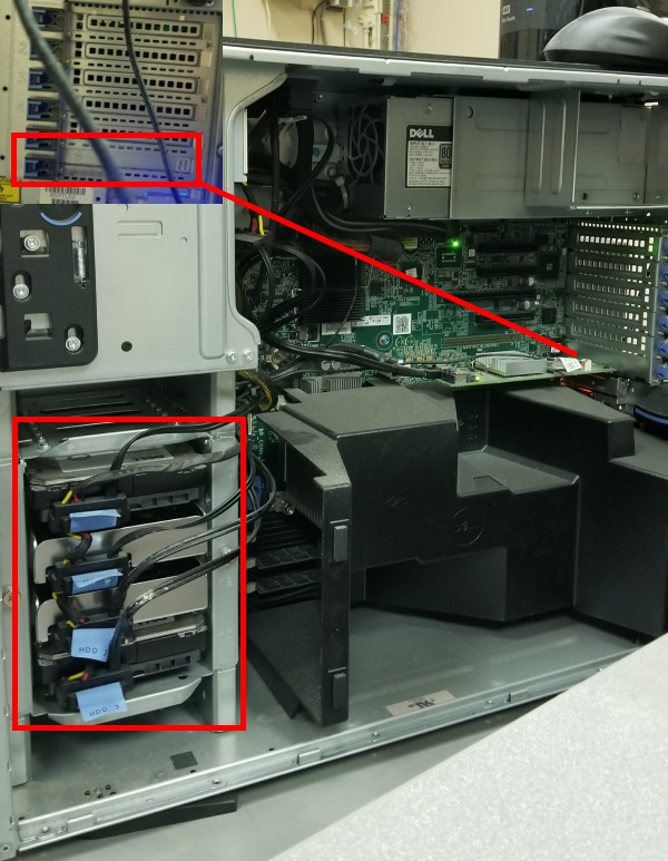 Replace HD on PowerEdge T320