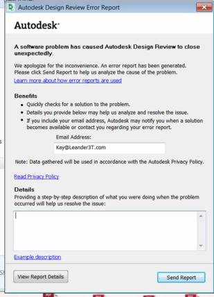 Design Review Crash