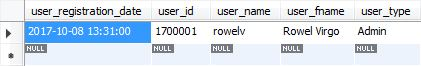 Sample SQL