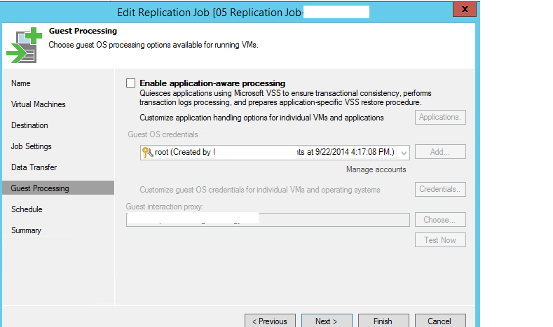 Veeam Backup and Restore