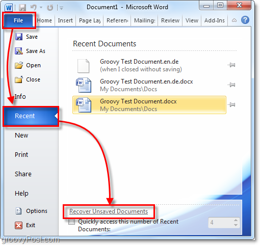 How to recover deleted or lost word files?