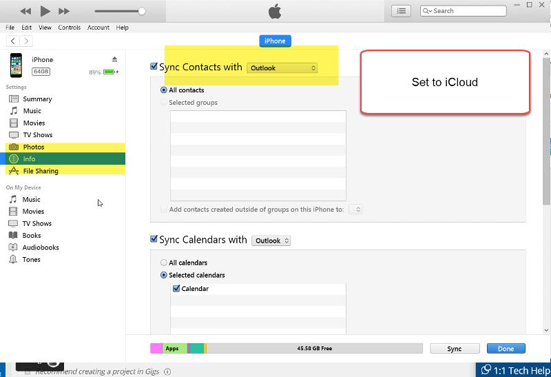 iTunes-Contact-Sync