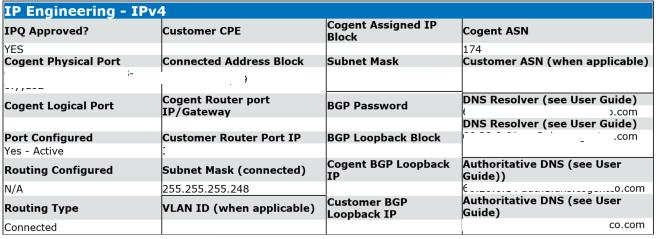 order ISP