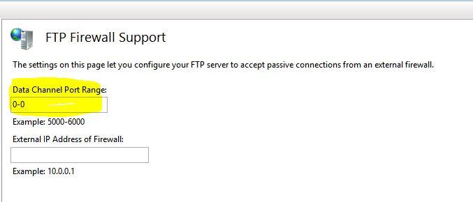 IIS FTP Option 2