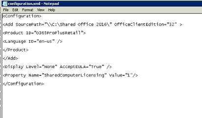 i have editited configuration file -tried with both local and UNC path.