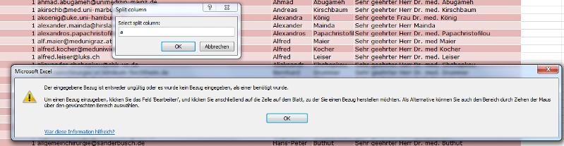 error message inputbox prompt
