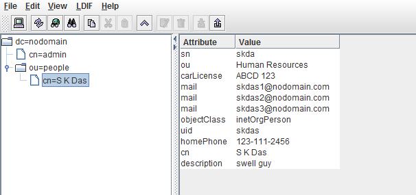 ldap directory structure