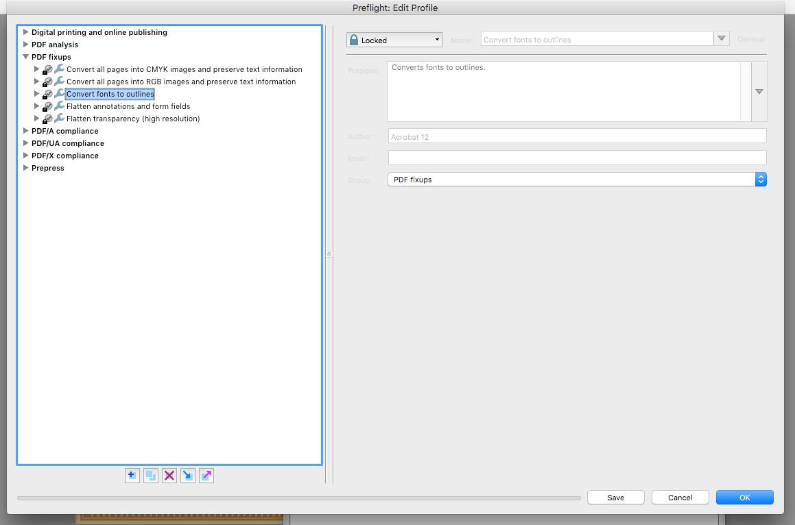 Adobe Acrobat Pro DC: Trouble embedding Fonts into a PDF