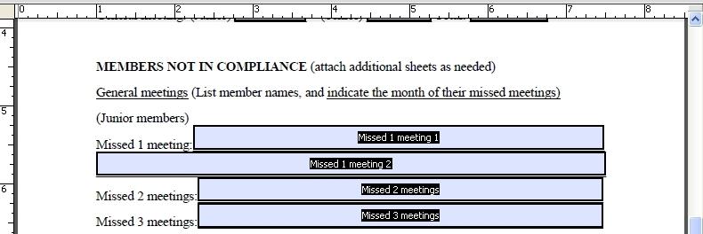 Edit Attendance Form