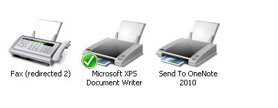 printers on server