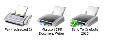change system printer