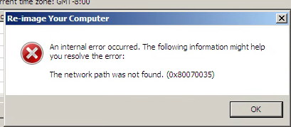 Access Error