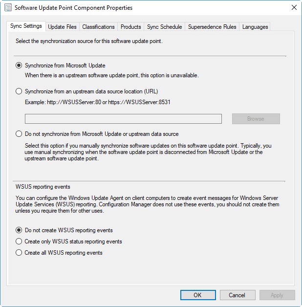 Multiple SCCM Error after Upgrade to Current Branch
