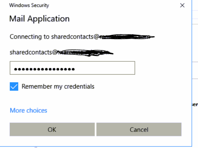 Outlook keeps asking for password on Office365 hosted by GoDaddy
