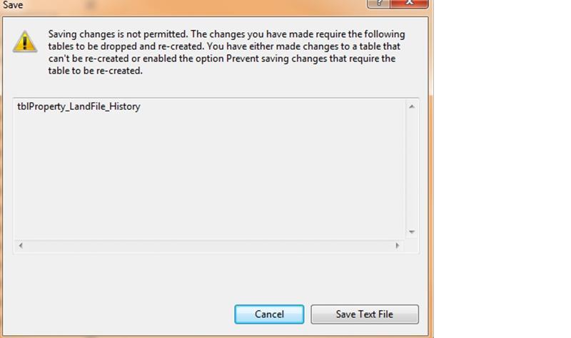 SQL Error Msg