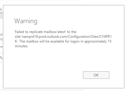 SHARED-MAILBOX-CREATION-ERROR