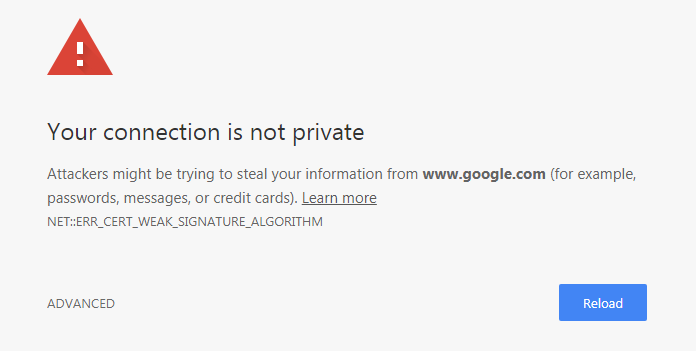 YOUR-CONNECTION-ISNT-PRIVATE