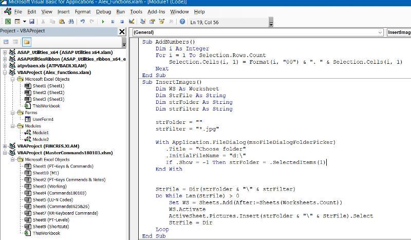 XLAM Macros and Functions