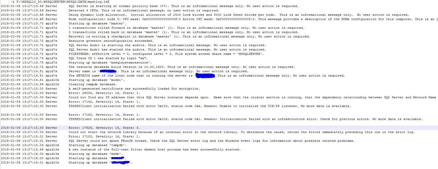 Error Log on Exchange Server 2013 - Experts-Exchange