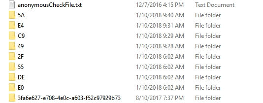 Folder Doesn't Exist in SCCM WSUS-CONTENT
