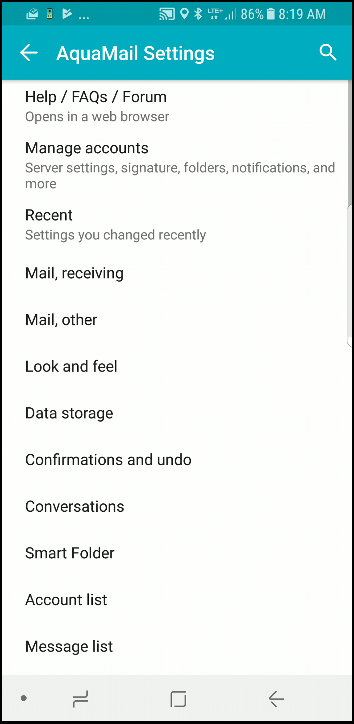 A few of the best Exchange Email Applications for Android