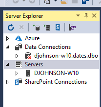 sql express not showing