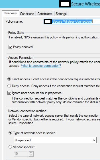Network Policy overview