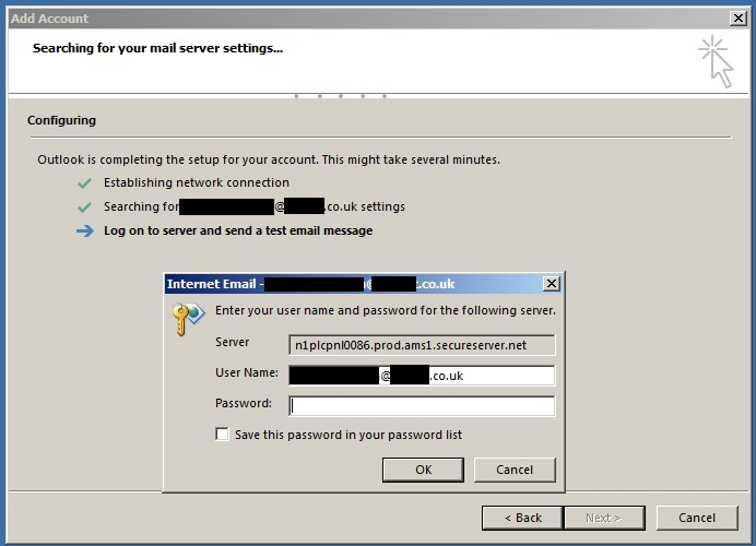 Office 365 & Outlook Configuration issues