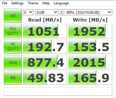Single SSD 6G SATA
